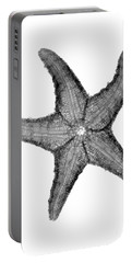 X-ray Of Starfish Portable Battery Charger by Bert Myers