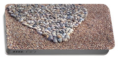 Xeriscape Heart Portable Battery Charger