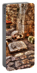 Portable Battery Charger featuring the photograph Stones That Don't Lie - Israel by Doc Braham