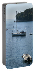 Yachts At Anchor Portable Battery Charger