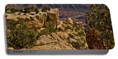 Portable Battery Charger featuring the photograph Yaki Point 3 The Grand Canyon by Bob and Nadine Johnston