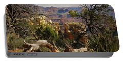 Portable Battery Charger featuring the photograph Yaki Point 4 The Grand Canyon by Bob and Nadine Johnston