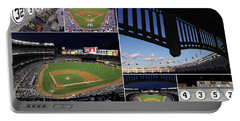 Yankee Stadium Collage Portable Battery Charger