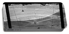 Yankee Stadium Grandstand View Portable Battery Charger by Underwood Archives