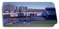 Yankee Stadium Ny Usa Portable Battery Charger by Panoramic Images