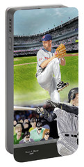 Yankees Vs Indians Portable Battery Charger