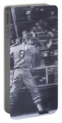 Yaz - Carl Yastrzemski Portable Battery Charger by Sean Connolly