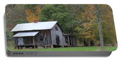 Ye Old Cabin In The Fall Portable Battery Charger