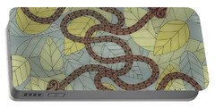 Year Of The Snake Portable Battery Charger