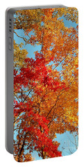 Portable Battery Charger featuring the photograph Yellow And Red by Patrick Shupert