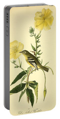 Yellow-bellied Flycatcher Portable Battery Charger by Philip Ralley