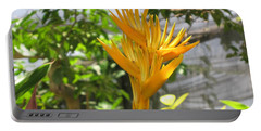 Yellow Bird Of Paradise Portable Battery Charger