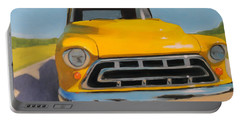Yellow Chevy Portable Battery Charger