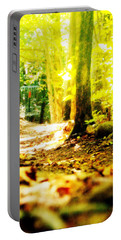 Yellow Discin Day Portable Battery Charger