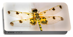 Yellow Dragonfly Pantala Flavescens Portable Battery Charger