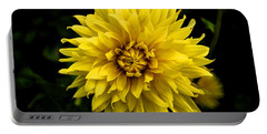 Yellow Flower Portable Battery Charger