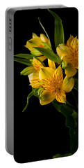 Portable Battery Charger featuring the photograph Yellow Flowers by Sennie Pierson