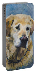 Yellow Lab Portable Battery Charger