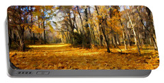 Yellow Leaf Road Portable Battery Charger