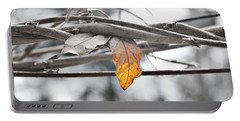 Yellow Leaf Portable Battery Charger