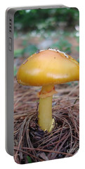 Yellow Mushroom Portable Battery Charger