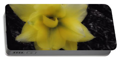 Yellow Parrot Tulip Portable Battery Charger