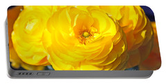 Yellow Peonies Portable Battery Charger