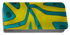 Yellow People Portable Battery Charger by Sir Josef - Social Critic -  Maha Art