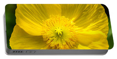 Yellow Poppy Portable Battery Charger