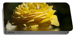 Yellow Rose Flood Portable Battery Charger
