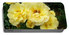 Yellow Rose Of Pa Portable Battery Charger by Michael Porchik