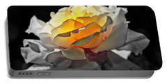 Yellow Rose Series - ...but Soul Is Alive Portable Battery Charger