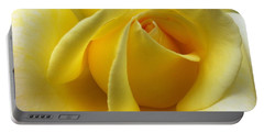 Yellow Rose Softness Portable Battery Charger