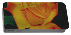 Yellow Rose Portable Battery Charger