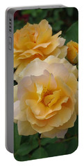Portable Battery Charger featuring the photograph Yellow Roses by Marilyn Wilson