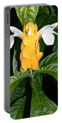 Yellow Shrimp Plant Portable Battery Charger