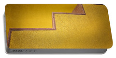 Yellow Steps Portable Battery Charger by Melinda Ledsome