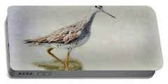 Yellowlegs Portable Battery Charger by Bill Wakeley