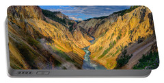 Yellowstone Canyon View Portable Battery Charger