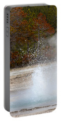 Yellowstone Geyser Portable Battery Charger