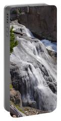 Yellowstone Gibbon Falls Portable Battery Charger by Jennifer White
