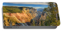 Yellowstone Grand Canyon East View Portable Battery Charger