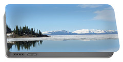 Yellowstone Lake In The Spring Portable Battery Charger