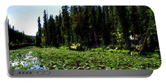 Yellowstone Lily Pads  Portable Battery Charger