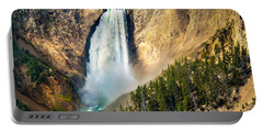 Yellowstone Lower Waterfalls Portable Battery Charger