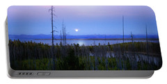Yellowstone Moon Portable Battery Charger