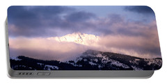 Portable Battery Charger featuring the photograph Yellowstone Morning by Sharon Elliott