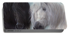 Yin-yang Horses  Portable Battery Charger