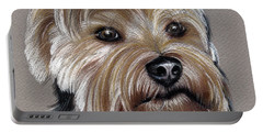 Yorkshire Terrier- Drawing Portable Battery Charger