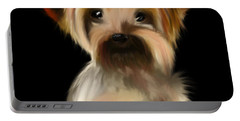 Yorkshire Terrier Pup Portable Battery Charger